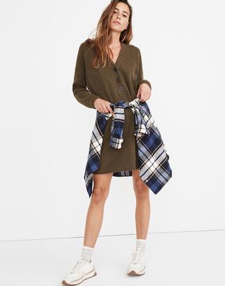Madewell Henley Sweater Dress