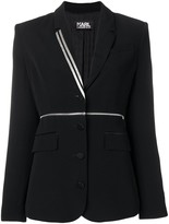 Karl Lagerfeld Paris X Kaia Zip Off Blazer