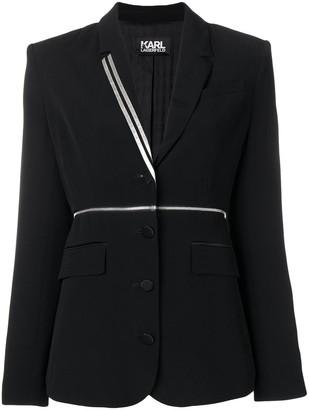 Karl Lagerfeld Paris X Kaia Zip Off Blazer