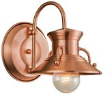 Norwell Lighting 5153-CO-NG Budapest - One Light Outdoor Wall Mount, Choose Finish: CO: Copper