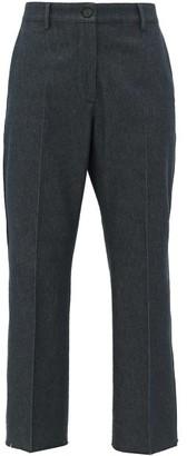 Golden Goose Marta High-rise Cropped-leg Jeans - Dark Denim