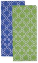 Lattice Jacquard Dish Towels (Set of 4)