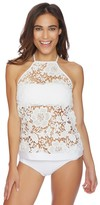 Luxe by Lisa Vogel State Of Lace High Neck Tankini