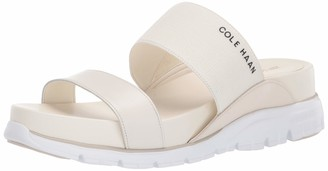 Cole Haan womens Zerogrand Double Band Slide Wedge Sandal