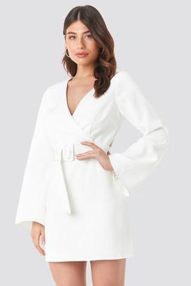 Linn Ahlborg X NA-KD Open Back Mini Dress