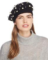 Aqua Multi Pearl Beret - 100% Exclusive