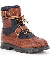 Polo Ralph Lauren Men's Drax Leather Buckle Lace-Up Boots