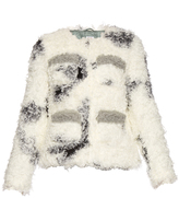 SHRIMPS Cindy spotted faux-shearling jacket