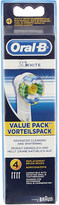 Oral-B Oral B Pack of four 3D White replacement toothbrush heads