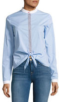 Bailey 44 Homeostasis Striped Button-Front Shirt