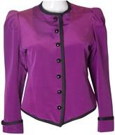 Saint Laurent Purple Jacket for Women Vintage