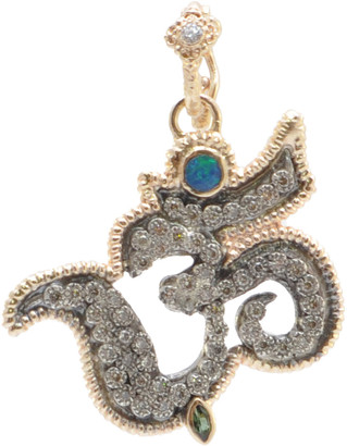 Armenta Cuento 14k Rose Gold Diamond OM Charm