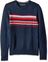 Nautica Men's Fair Isle Sweater