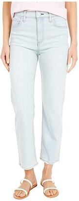 Hudson Remi High-Rise Straight Cropped in Levitator (Levitator) Women's Jeans