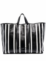 Thumbnail for your product : Balenciaga large Barbes East-West shopper tote bag