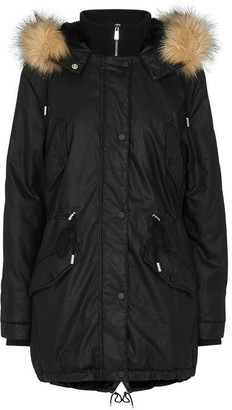 Whistles Willmer Waxy Parka