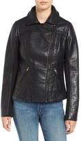 Steve Madden Faux Leather Moto Jacket