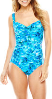 Trimshaper Print Control One-Piece Tank Swimsuit