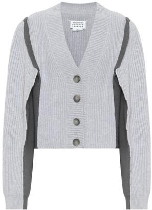 Maison Margiela Cotton and wool-blend cardigan