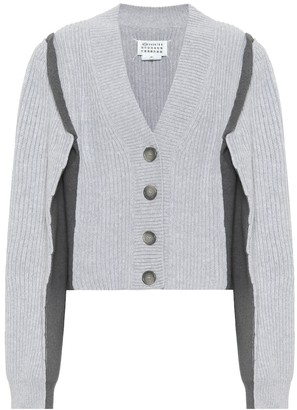 Maison Margiela Cotton and wool-blend cardigan