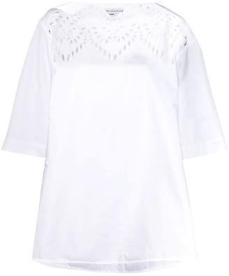 Victoria Beckham Broderie Anglaise top
