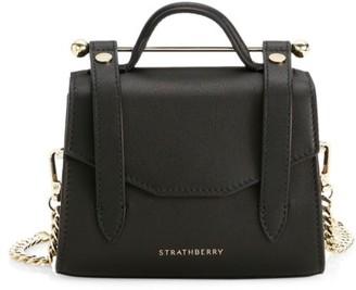 Strathberry Micro Allegro Leather Satchel