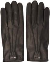 Prada Black Lambskin Gloves