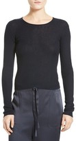 Vince Women's Rib Knit Crop Pullover