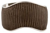 Tod's Leather Wave Cuff