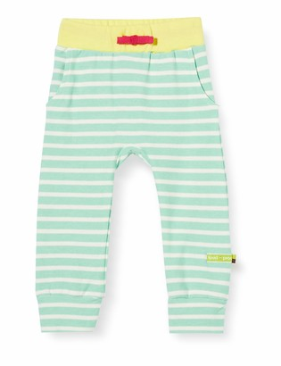 loud + proud Baby Girls' Striped Pant Organic Cotton Trouser