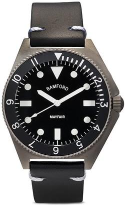Bamford Watch Department Mayfair Black 40mm