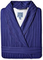 Majestic International Men's Big and Tall Get the Blues Terry Lined Shawl Robe