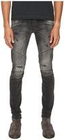 Pierre Balmain Classic Distressed Biker Jeans Men's Jeans