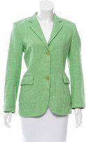 Jil Sander Two-Button Fitted Blazer