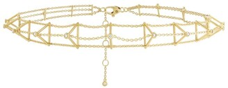 H.Stern Yellow Gold And Diamond Silk By Choker