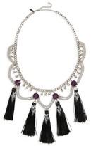 Topshop Women's Mega Tassel Drop Collar Necklace