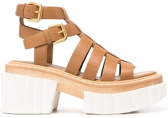 Stella McCartney Strappy Platform Sandals