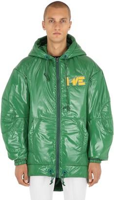 Haervaerk Kenny Hooded Nylon Puffer Jacket
