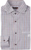Corneliani Table Check Cotton Shirt