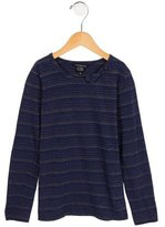 Little Marc Jacobs Girls' Metallic Striped Top
