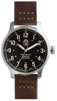 Shinola Women's X Filson The Smokey Bear Leather Strap Watch Gift Set, 43Mm