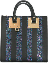 Sophie Hulme Glitter square Albion tote - women - Leather/PVC - One Size