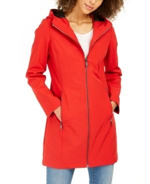 Calvin Klein Hooded Water-Resistant Raincoat