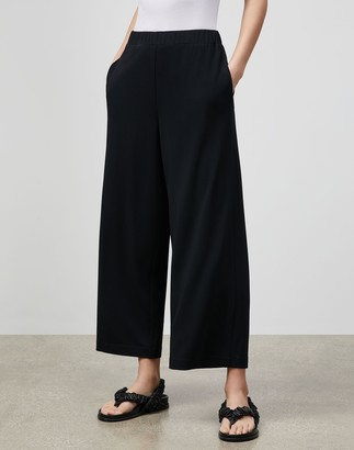 Lafayette 148 New York Riverside Cropped Pant In Midweight Matte Jersey
