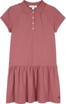Burberry Cali cotton drop waist polo dress 4-14 years