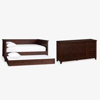 Pottery Barn Teen Hampton Daybed with Trundle & 9-Drawer Dresser Set