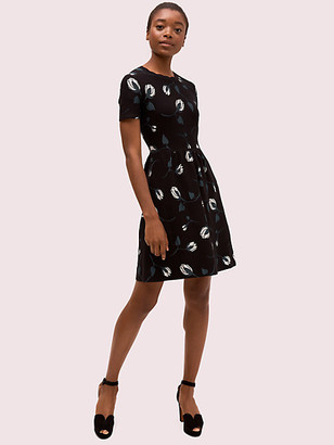 Kate Spade Deco Bloom Sweater Dress