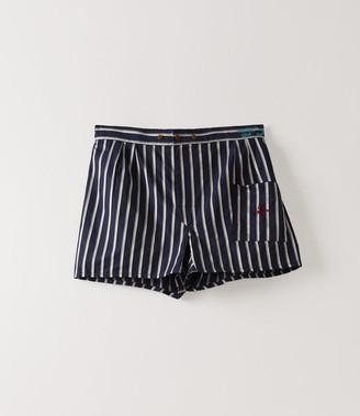 Vivienne Westwood We Boxer Shorts Navy Stripes