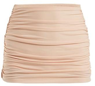Norma Kamali Bill High-rise Bikini Briefs - Womens - Light Pink