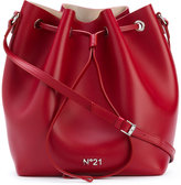 No.21 drawstring bucket shoulder bag